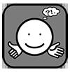 TRANSPARANT ACTIEFzwart-wit ZEER klein
